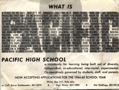 What Is Pacific high copy